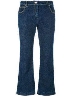 укороченные расклешенные джинсы Kenzo