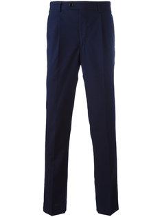 брюки слим со стрелками  Mp  Massimo Piombo