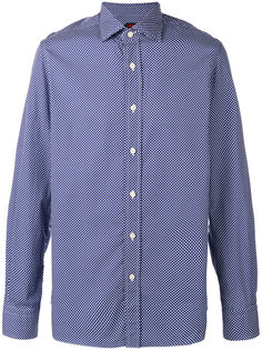рубашка в горох Mp  Massimo Piombo