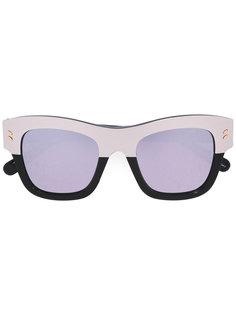 объемные солнцезащитные очки в квадратной оправе Stella Mccartney Eyewear
