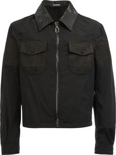 укороченная куртка на молнии Lanvin