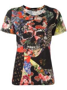блузка с принтом Alexander McQueen