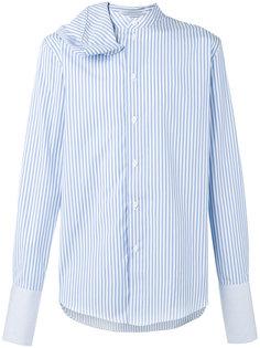 полосатая рубашка Beach с декоративным шарфом JW Anderson