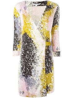платье с V-образным вырезом с запахом Dvf Diane Von Furstenberg