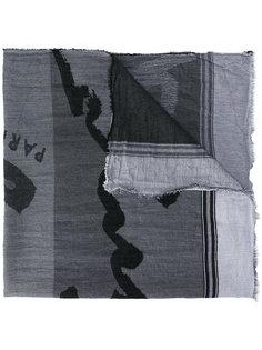 шарф с принтом Kenzo