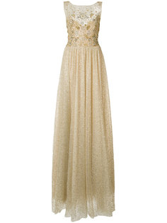 блестящее платье Marchesa Notte