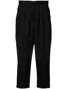 укороченные брюки с заниженной шаговой линией Comme Des Garçons