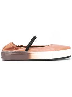 кроссовки-балетки Marni