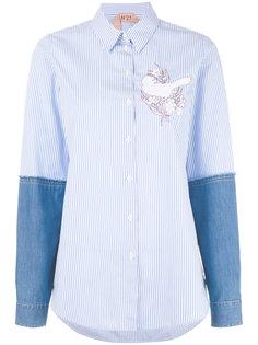 рубашка с аппликацией Nº21