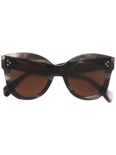 солнцезащитные очки с крупной оправой Céline Eyewear