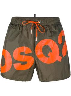 шорты для плавания с логотипом Dsquared2