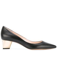 туфли с металлизированным каблуком Nicholas Kirkwood