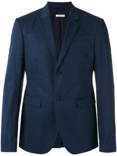 однобортный пиджак Marni
