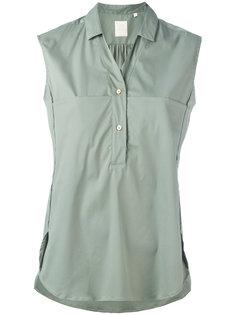 блузка без рукавов с пуговицами Xacus