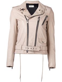 классическая байкерская куртка Saint Laurent