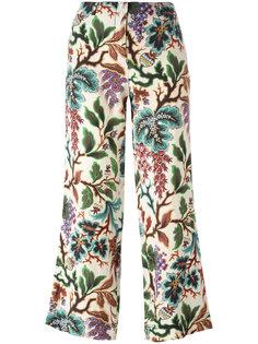 укороченные брюки с рисунком Philosophy Di Lorenzo Serafini