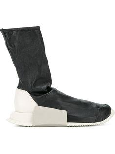 кроссовки с носочной вставкой Adidas Level Adidas By Rick Owens