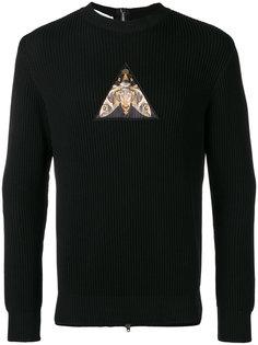 толстовка с молнией на спине Givenchy