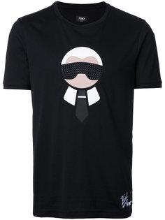 футболка Karl Loves Fendi Fendi