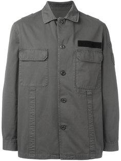 однобортная куртка в стиле милитари  Golden Goose Deluxe Brand