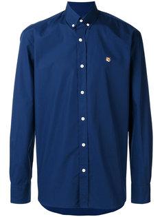 рубашка с воротником на пуговицах Maison Kitsuné