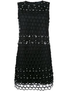 сетчатое платье Cavalli Class