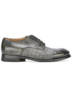 плетеные ботинки Дерби  Silvano Sassetti