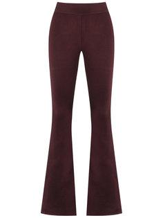 knit flare trousers Cecilia Prado