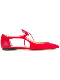 туфли Vanessa на плоской подошве Jimmy Choo
