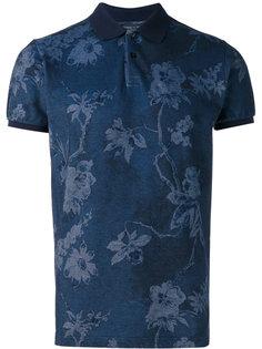 рубашка-поло с цветочным рисунком Etro