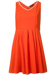 платье с плиссировкой Loveless