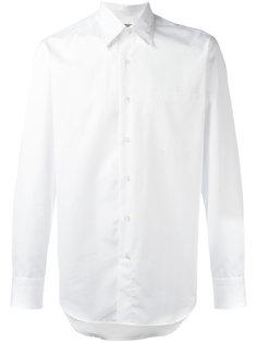 рубашка с воротником с пуговицами Canali