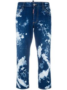 """прямые джинсы с эффектом """"варенки"""" Dsquared2"""