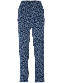 прямые брюки с узором Woolrich