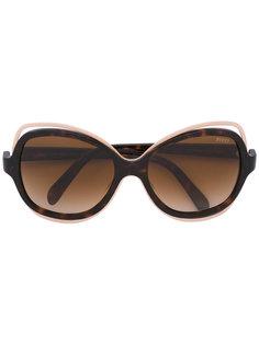 объемные солнцезащитные очки  Emilio Pucci
