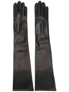 перчатки из кожи ягненка Manokhi