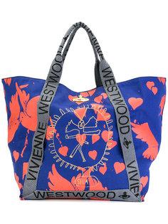 объемная сумка-тоут с принтом Vivienne Westwood Anglomania