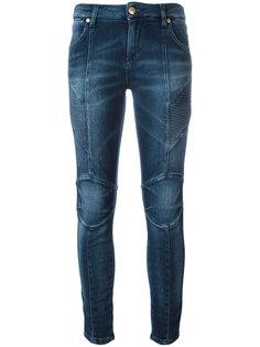 джинсы скинни с ребристой отделкой Pierre Balmain