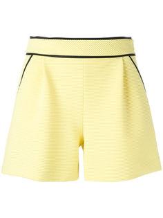 шорты с контрастной окантовкой Boutique Moschino