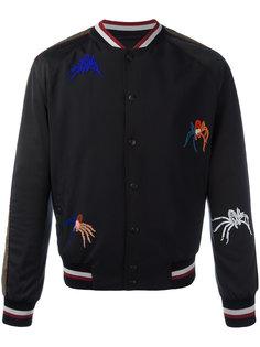 куртка бомбер с бисером Lanvin