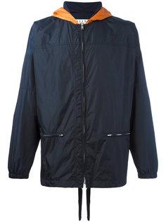 легкая куртка с капюшоном Marni