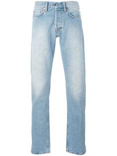 джинсы кроя слим с потертой отделкой Our Legacy