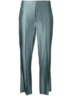брюки с эффектом металлик Isabel Marant