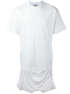 футболка с заниженной спинкой Christopher Shannon