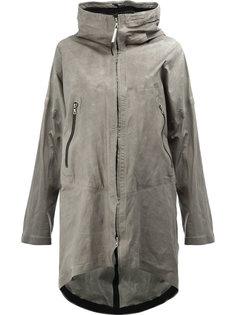 пальто с мятым эффектом Isaac Sellam Experience
