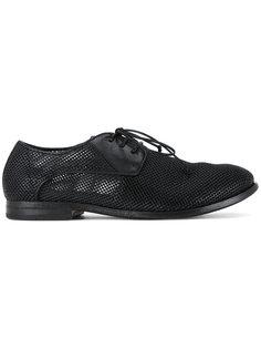 перфорированные ботинки Дерби Marsèll