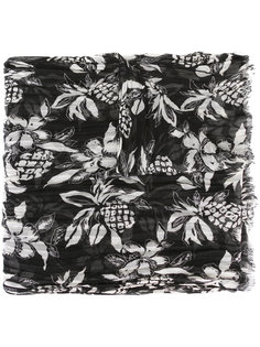 платок с гавайским узором Saint Laurent