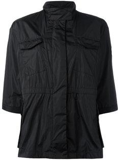 куртка в стиле милитари с укороченными рукавами Moncler
