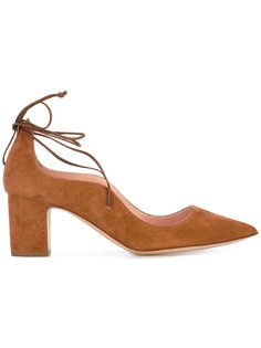 туфли-лодочки на шнуровке Rupert Sanderson