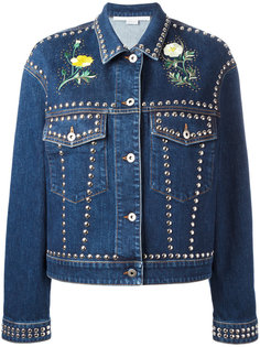 джинсовая куртка с заклепками Stella McCartney